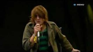 Paolo Nutini Performs Million Faces Live Glastonbury 2007