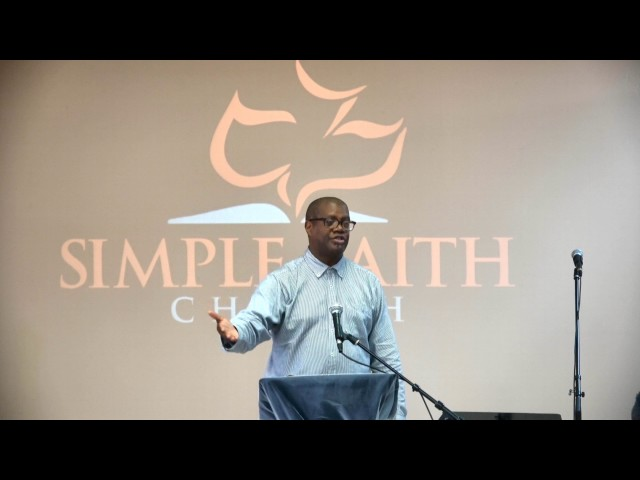 Mark 9:1-13 The Kingdom Of God   Present With Power - Pastor George Hillman - Simple Faith Church