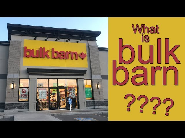 What is Bulk Barn in Canada?