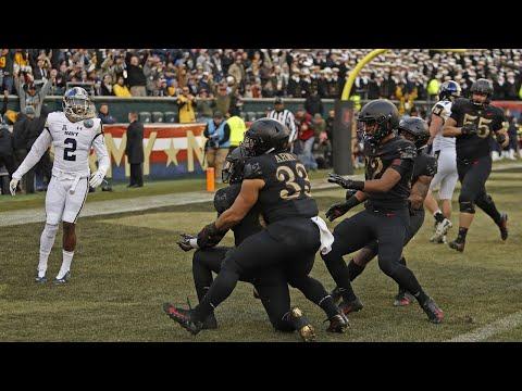 Navy Vs. Army | 2018 College Football Highlights