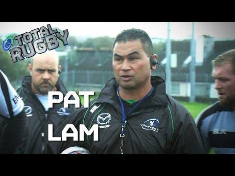 Samoan Rugby Legend, Pat Lam