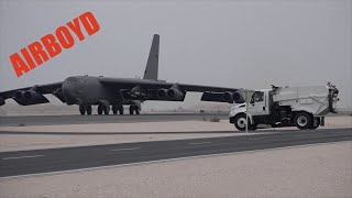 The BUFF Load And Go From Al Udeid Air Base