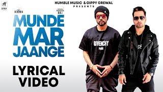 Munde Mar Jaange (Lyrical Video) | Raghveer Boli feat. Bohemia | Jay K | Humble Music