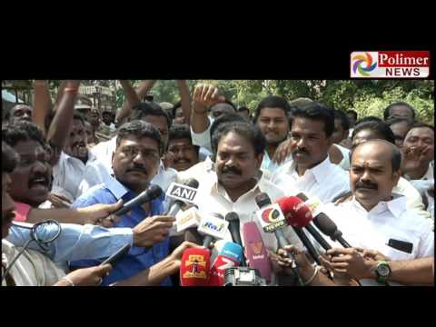 District secretary of the AIADMK kalairajan threat to O.Panneerselvam