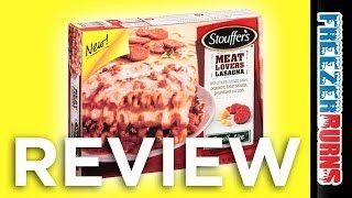 Stouffer's Meat Lovers Lasagna Video Review: Freezerburns (ep650)