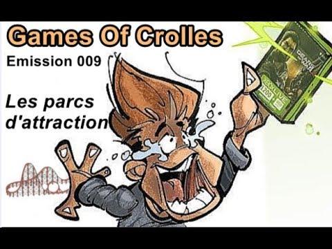 Games Of Crolles - Les jeux vidéo et les parcs d'attraction - Emissi
