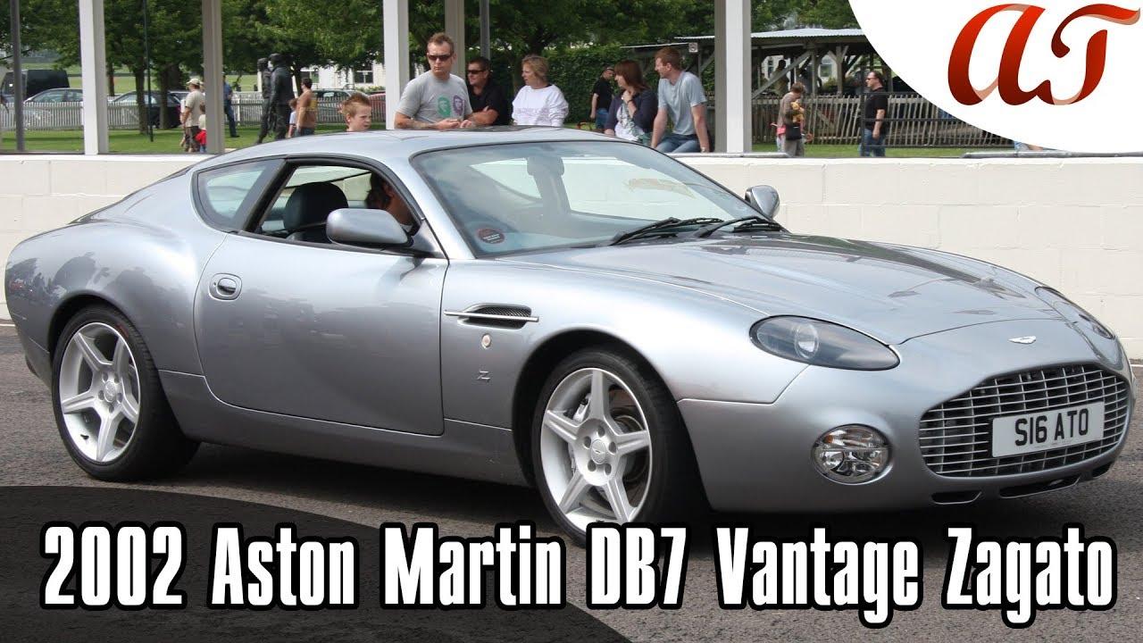2002 Aston Martin Db7 Vantage Zagato The Design A T Design Youtube