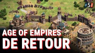 UN RETOUR EN FORCE ! - 5 Choses à Savoir sur Age Of Empires IV