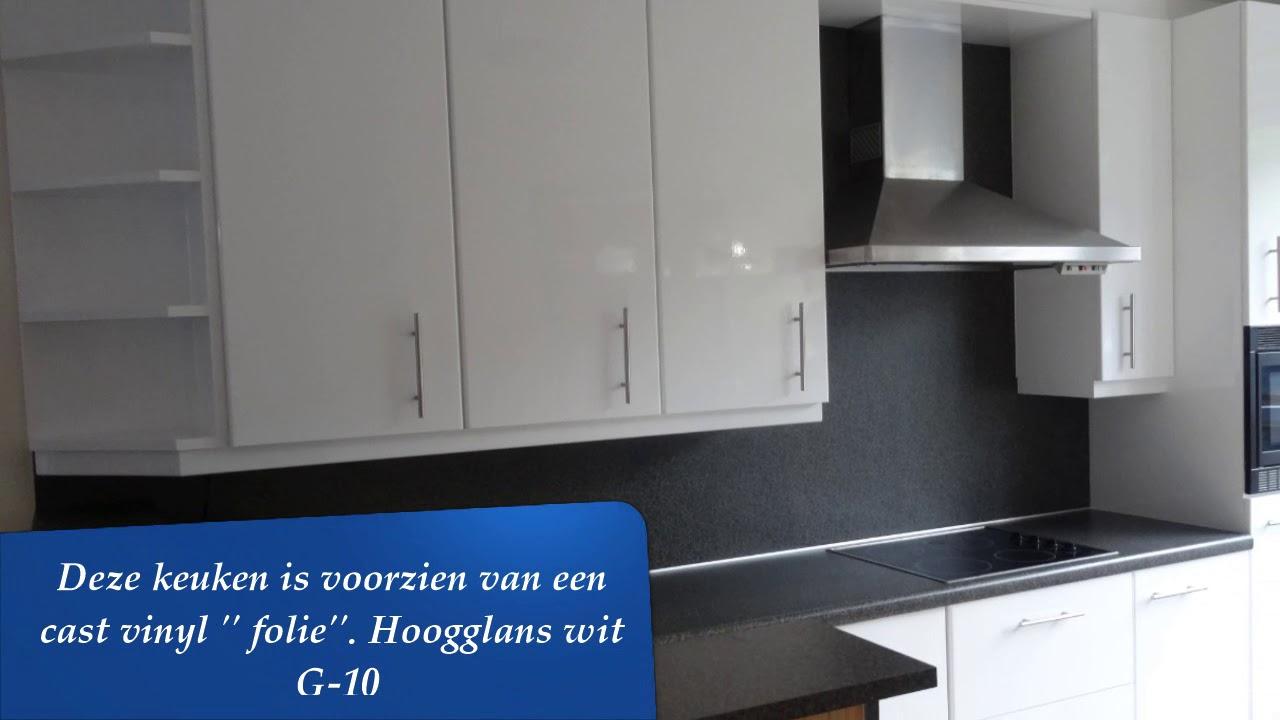 Wrap Folie Keuken : Keuken wrap hoogglans wit youtube