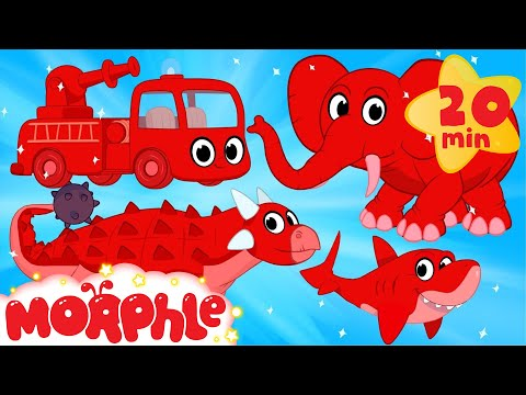 Thumbnail: My Pet Dinosaur, Shark, Elephant and Fire Truck Animation Videos For kids!