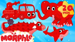 My Pet Dinosaur, Shark, Elephant and Fire Truck Animation Videos For kids! thumbnail