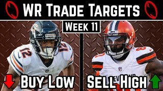 Wide Receiver Trade Targets - Week 11 - 2019 Fantasy Football Advice