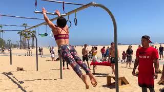 American Ninja Warrior Training at Ninja Beach