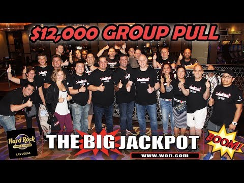 💣 HUGE $12,000 GROUP PULL at Hard Rock Hotel & Casino in Las Vegas 💣