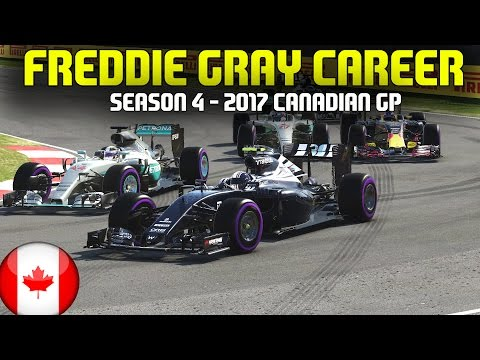 F1 2017 CANADIAN GRAND PRIX | FREDDIE GRAY CAREER (S4 E7) - 6 WAY BATTLE FOR THE LEAD!