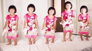 Five little Babies Jumping on the bed, Baby nursery rhymes songs for children thumbnail