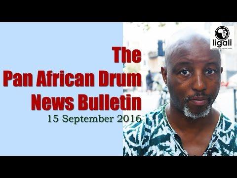 Pan African Drum - New Bulletin (15 Sep 2016)
