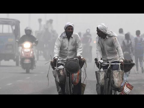Smog at emergency levels in New Delhi