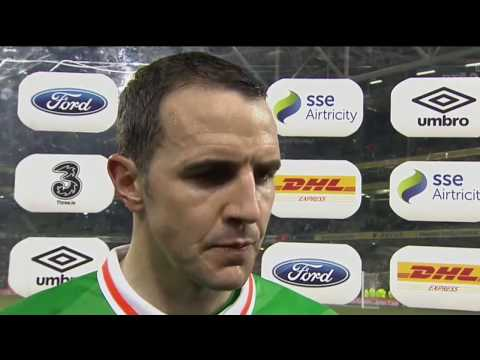 Republic of Ireland v Wales - post-match interview - John O'Shea (24/3/17)