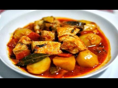 соус из курицы и картошки рецепт с фото