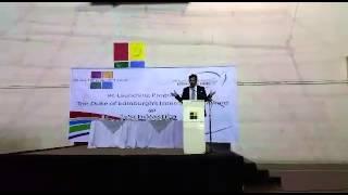 Rizwan Bin Farouq at Scholastica School DEA launch