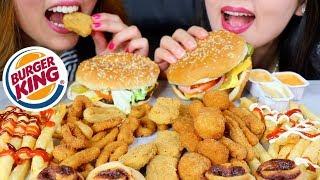 King asmr burger