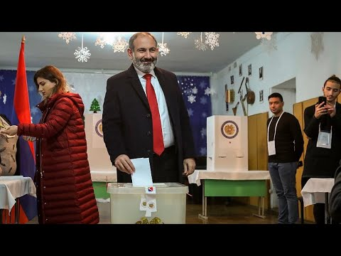 Armenia's acting PM Nikol Pashinyan wins by landslide