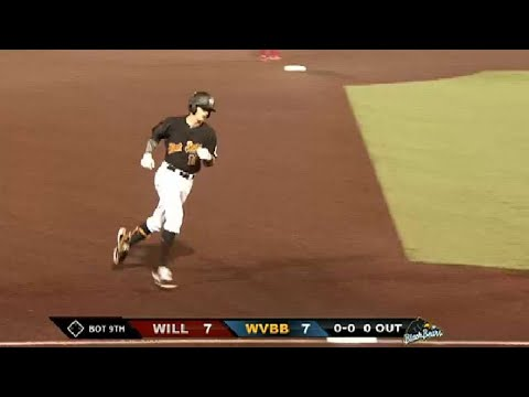 West Virginia's Busby ties the game with a homer