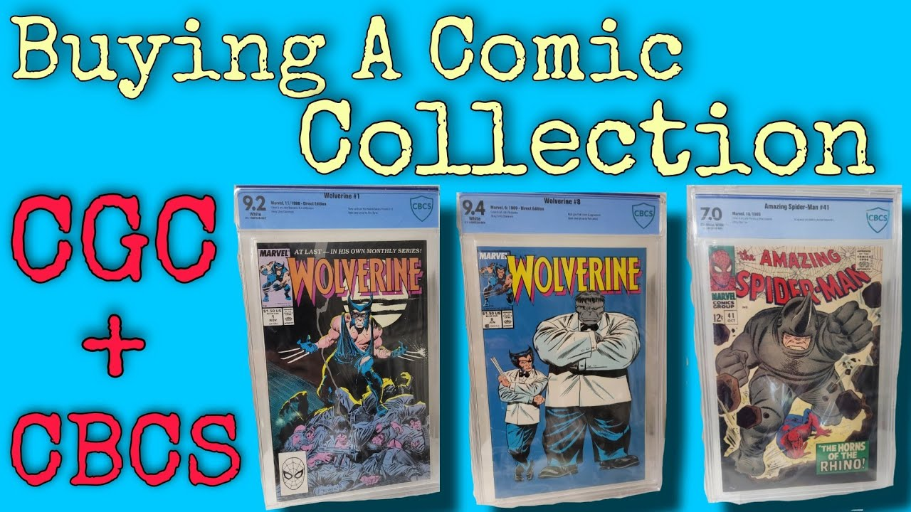 Buying a Graded Comic Collection