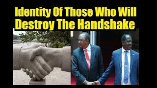 Raila/Uhuru Handshake Doomed To Fail
