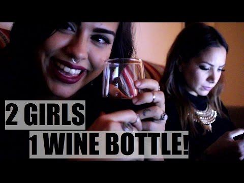 2 GIRLS 1 WINE BOTTLE! | TheZombieeLife
