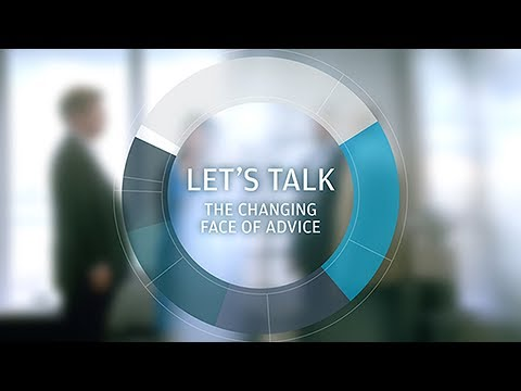 Let's talk: The changing face of advice