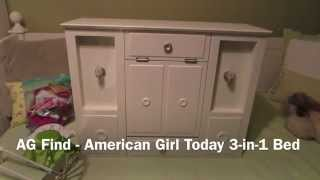 AG Purchase - American Girl of Today 3-in-1 Bed