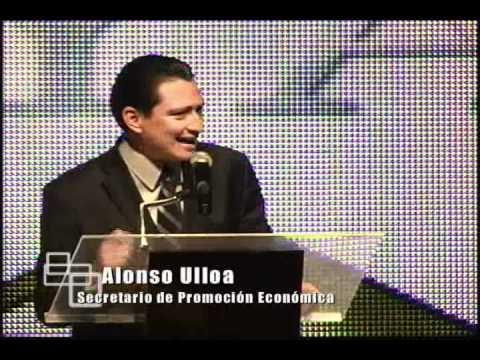 Alonso Ulloa acude a la Inuaguración Expo Joya 2011