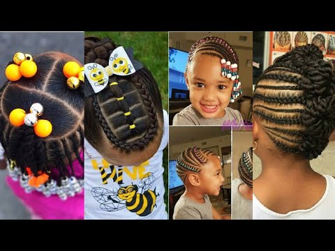 African Kids Hairstyles For School Easy Simple Youtube