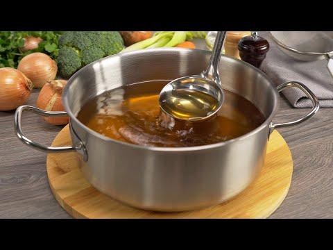 Овощной бульон - основа успеха! Секреты приготовления! Рецепт от Всегда Вкусно!