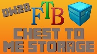How to Send Items From Chests To ME System FTB