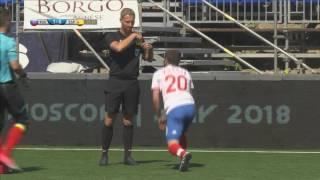 Россия - Испания - 3:0. MiniEURO 2017. Обзор матча.