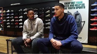Kyle Kuzma, BULL1TRC Talk Hoops and Fashion at DICK'S Sporting Goods