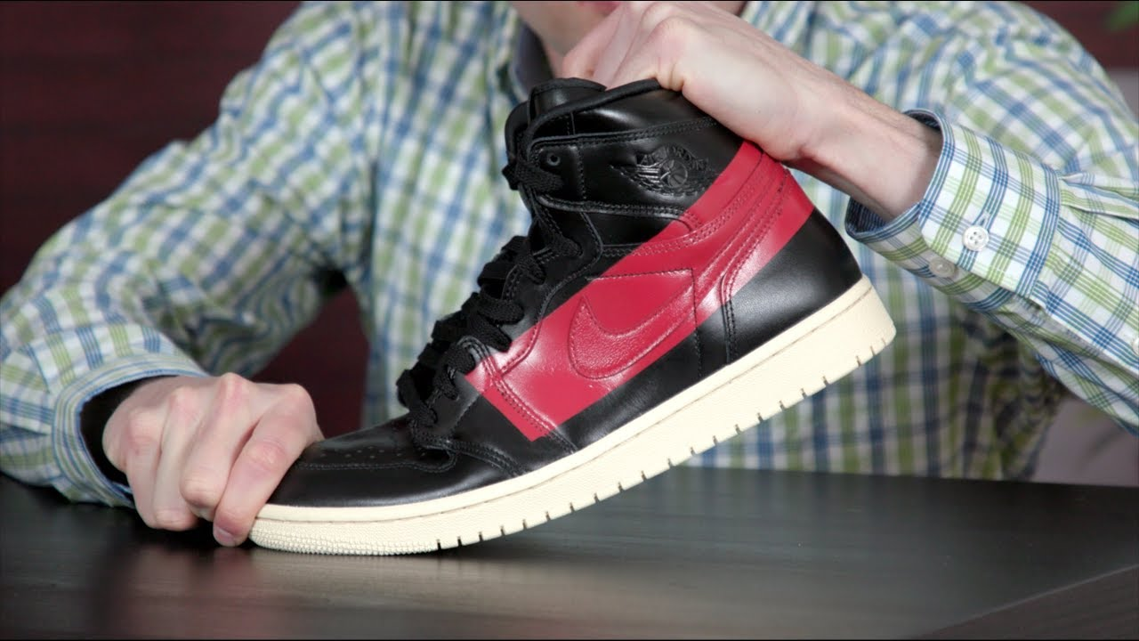 8c167deb242d How To Avoid Creasing the Air Jordan 1 - YouTube