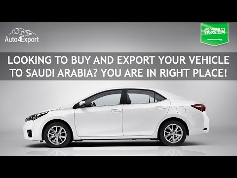 Shipping cars from USA to Saudi Arabia - Auto4Export