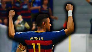 PES 2016 - Neymar Goals & Skills FULL HD 60FPS