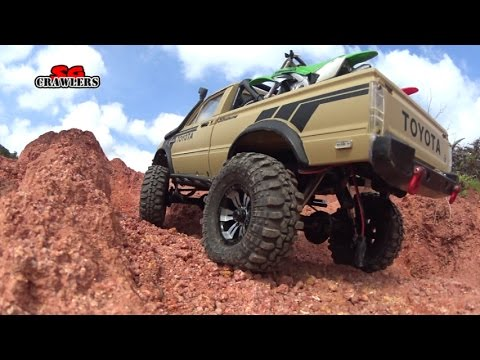 15 Scale RC Trucks Offroad Adventures Jeep Wrangler Dodge TF2 hilux Defender 90 Unimog