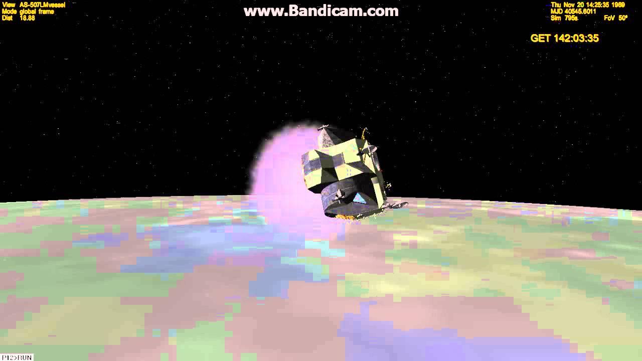 Orbiter 2010 - Apollo 12 Lunar Lift-Off (AMSO) - YouTube