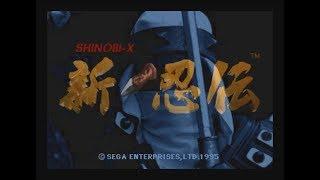 Shinobi X (Saturn) - Longplay