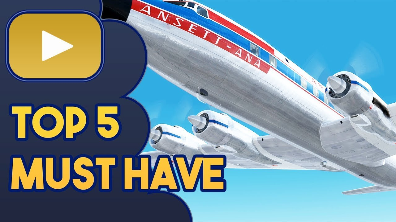 Top 5 | Must Have | Flight Simulators | Career Plugins