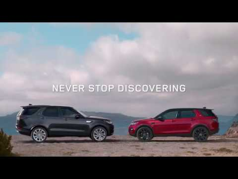 land rover discovery & discovery sport - never stop discovering