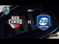 Red Canids x CNB (Jogo 1 - Semana 4 - Dia 1) - CBLoL 2017