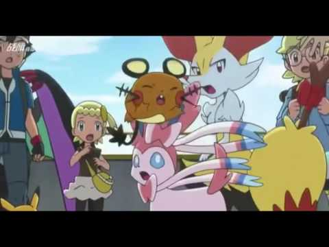 Pokemon XYZ AMV/Nightcore When Can I see you again?