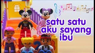 SATU SATU AKU SAYANG IBU (Sayang Semuanya) | Mainan Anak | Lagu Anak Channel